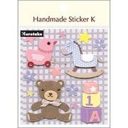 SBST300-1 [Handmade sticker K(ハンドメイドステッカーケイ) ベビーガールトイズ]