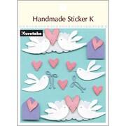 SBST300-5 [Handmade sticker K(ハンドメイドステッカーケイ) ラブ&ダブ]