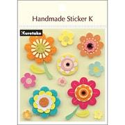 SBST300-7 [Handmade sticker K(ハンドメイドステッカーケイ) ハッピーフラワー]