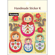 SBST300-8 [Handmade sticker K(ハンドメイドステッカーケイ) マトリョーシカ]