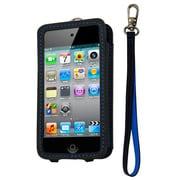 CP10008-LOBB [第4世代iPod touch用レザーオープンケース ブラック・ブルー]