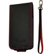 CP10008-LFBK [第4世代iPod touch用レザーフリップケース ブラック・レッド]