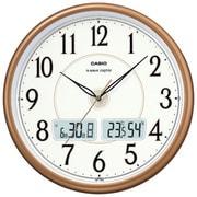 ITM-200J-5JF [パールブラウン 温・湿度計付き 電波壁掛け時計]