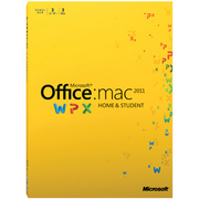 Office for Mac Home and Student Family Pack 2011 日本語版 [Mac PC3台利用可能]
