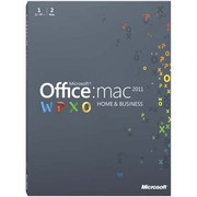 Office for Mac Home and Business 2011 - 2パック [Mac PC2台利用可能]