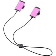 LBT-PCHP02PN [Bluetooth PC用ヘッドホン カナルタイプ ケーブル充電 ピンク]