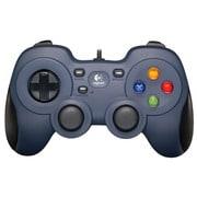 F310 [USB接続 ゲームコントローラー 12ボタン ダークブルー]