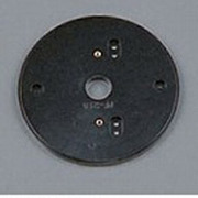 PF218B [樹脂絶縁台 丸形・黒色(屋外用) φ145]