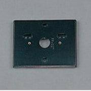 PF227B [樹脂絶縁台 角形・黒色(屋外用) 高110]