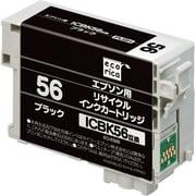 ECI-E56B [エプソン ICBK56 互換リサイクルインクカートリッジ ブラック]