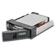 CWRS2LCD-BK [5インチベイ収納 3.5インチ SATA HDD 対応 技あり!楽ラック!LCD]