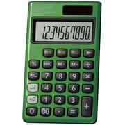 DX-150TGR [G-touch 携帯電卓 10桁 グリーン]