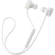 LBT-MPHP04AWH [Bluetooth 2.1+EDR対応 携帯電話向けステレオイヤホン カナルタイプ USB-ACアダプタつき ホワイト]