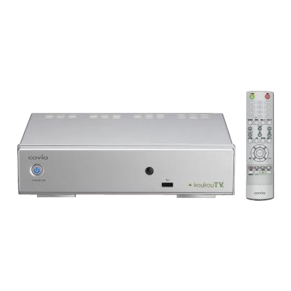 CVR-501K [Social PhotoFrame対応 地上・BS・110度CSデジタルハイビジョンチューナー]