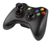 XB360 ワイヤレスコントローラー (リキッドブラック)NSF-00004 [Xbox360用純正アクセサリー]