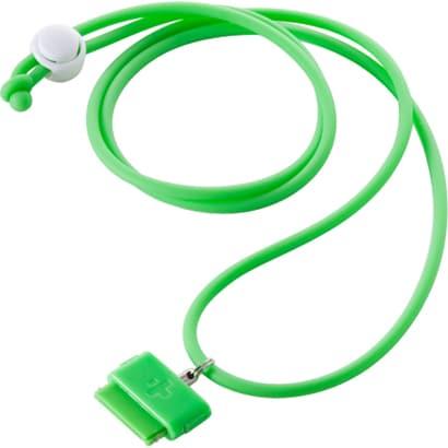 TR-DSIN-GR [iPod/iPhone Dockコネクター用ネックストラップ ネオ グリーン DockStrap Neo Green]