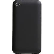 PTY-12 [第4世代 iPod touch用シリコンジャケットセット マットブラック]