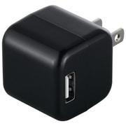 BSIPA06BK [キューブ型USB充電器 2ポートタイプ ブラック]