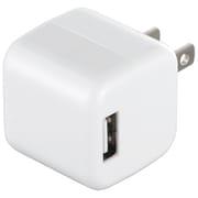 BSIPA06WH [キューブ型USB充電器 2ポートタイプ ホワイト]