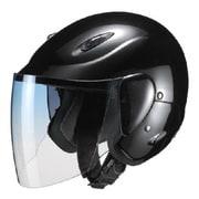 M-510 SEMI JET [電動バイク用ヘルメット セミジェット ブラックメタリック]