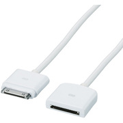 MPA-ED10WH [iPhone用Dock延長ケーブル 1.0m ホワイト]