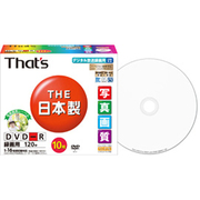 DR-C12WSY10SN [録画用DVD-R 120分 1-16倍速 CPRM対応 ワイドタイプ プリンタブル白 10枚]
