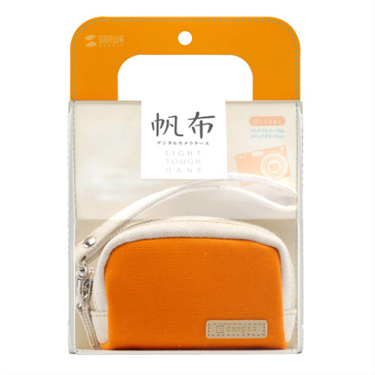 DG-BG39D [デジカメケース(キャンパス)オレンジ]