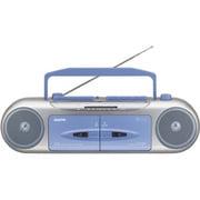 U4-W34(L) [ラジオカセットレコーダー ブルー]