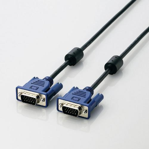 CAC-20BK/RS [EU RoHS指令準拠 D-Sub15ピン(ミニ)ケーブル 2.0m]