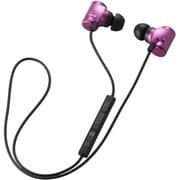 LBT-AVHP04APN [Bluetooth 2.1+EDR対応ステレオイヤホン USB-ACアダプタ付き 携帯オーディオプレーヤー向けモデル ピンク]