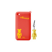 RA-SC44BY [第4世代iPod touch用シリコンケース BE@RBRICK silicone case for iPod touch 4th イエロー]
