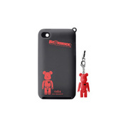 RA-SC44BR [第4世代iPod touch用シリコンケース BE@RBRICK silicone case for iPod touch 4th レッド]