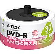 DR120DPWC30RF [録画用DVD-R 詰め替え用 CPRM対応 インクジェットプリンタ対応 30枚]