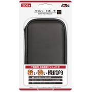 セミハードポーチ ブラック DJ-3DSSP-BK [3DS用]