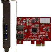 USB3.0N4-PCIe [PCI-Express x1 接続 USB3.0 2ポート搭載 インターフェースボード]