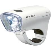 LT-SG-011 [自転車用ライト 3灯式WHITELED TRILED ホワイト]