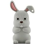 DR10071-4GR [ウサギ型USBメモリー 4GB グレー]