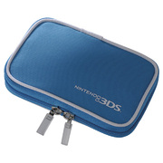 シンプルケース ブルー SZC-3DS02BL [3DS用]