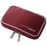 シンプルケース レッド SZC-3DS02R [3DS用]