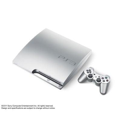 プレイステーション3 HDD160GB サテン・シルバー CECH-2500A SS