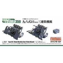 1/350 WZ7 ナノ・ドレッドシリーズ 96式25ミリ3連装機銃 [1/350アクセサリー]