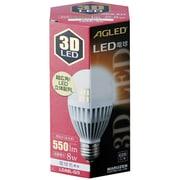 LDA8L-G/3 [LED電球 E26口金 電球色相当 550lm 3D(LED立体配列)モデル]