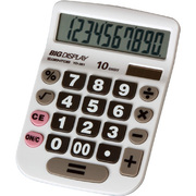 YD-361 [やさしい電卓 セミデスクサイズ 10桁]