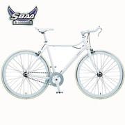 B-PSLS53F [自転車(700×23C) クリスタルホワイト SLIDE(スライド) SINGLE SPEED 530mm]