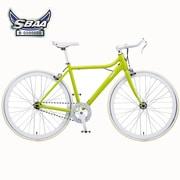 B-PSLS53G [自転車(700×23C) ウグイス SLIDE(スライド) SINGLE SPEED 530mm]