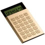 LC66 [スライド液晶式 8桁電卓 JET CALCULATOR ゴールド]