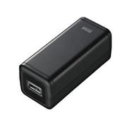 BTN-DC2BK USB出力付ポータブルバッテリー電源 ブラック [USB出力付ポータブルバッテリー電源 単3×4本タイプ ブラック]