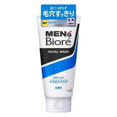 メンズビオレ ミクロスクラブ洗顔 [130g]