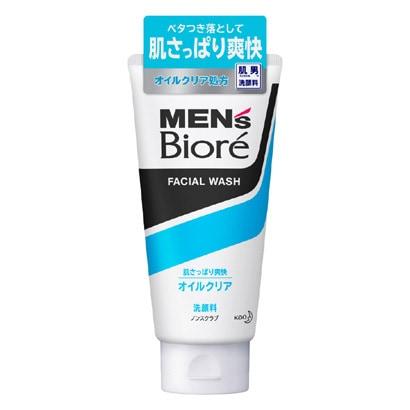 メンズビオレ ディープオイルクリア洗顔 [130g]
