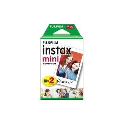 インスタントカラーフィルム instax mini [チェキ用フィルム 20枚撮り 10枚入り 2パック]